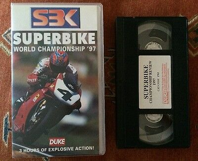 World Superbike Review 1997 - Vhs Video