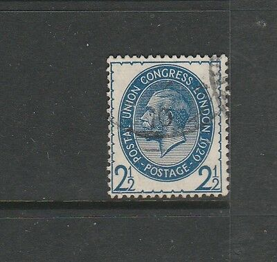 GB 1929 PUC 2 1/2d Used SG 437