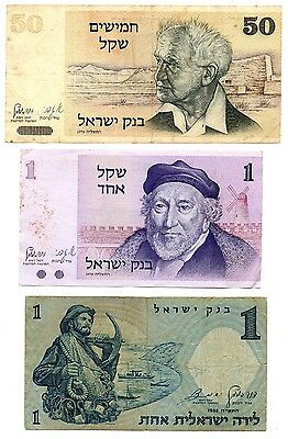 ISRAEL - 3   great  different  notes