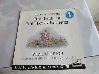The Tale Of The Flopsy Bunnies - Vivien Leigh & Cast Ep Record On Hmv (1960).