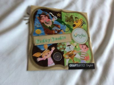 Craft Artist Digikit Daisytrail Daddy Doodle  Cd Rom Fathers Day/ Birthday