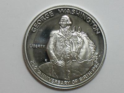 1982-S George Washington Commemorative Half Dollar - Proof Us Silver Coin