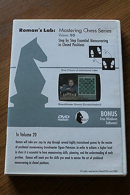 Chess DVD - Roman's Lab Volume 20: Essential Maneuvering in Closed Positions