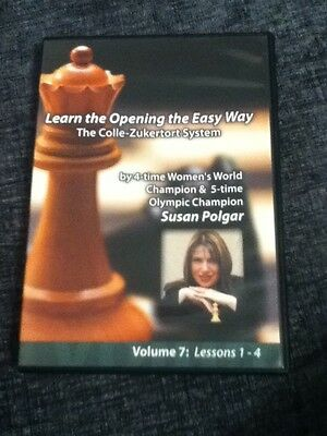Chess DVD - Learn The Opening The Easy Way: The Colle-Zukertort System