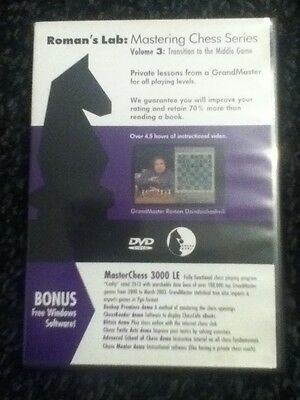 Chess DVD - Roman's Lab Volume 3: Transition to the Middle Game