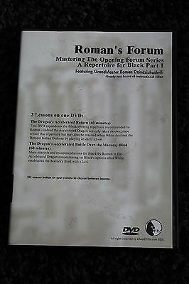 Chess DVD - Roman's Lab Volume 31 - Opening Forum, A Repertoire for Black Part 1