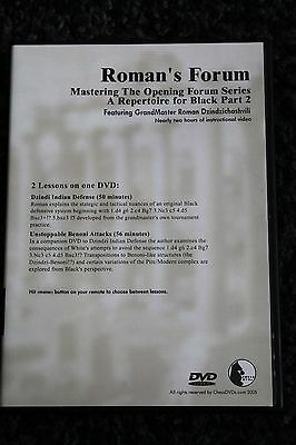 Chess DVD - Roman's Lab Volume 32 - Opening Forum, A Repertoire for Black Part 2