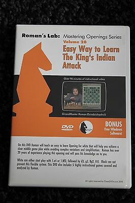 Chess DVD - Roman's Lab Volumes 28: Easy Way To Learn The Kings Indian Attack