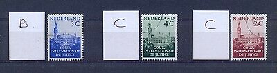 NETHERLANDS Court of Justice. Paper variety. Very nice. High value. VFU