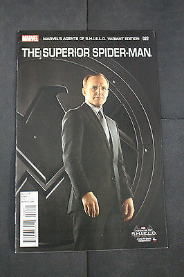 Superior Spider-man #22 Agents of Shield Incentive Variant Edition Cover