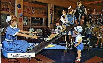 Butlin's Holiday Camps - Typical Children's Playroom - Official Postcard View