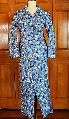 Women's Joe Boxer Dog Print 2 Piece Flannel Pajamas Size Small New With Tags