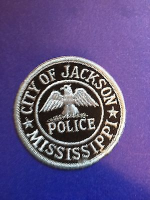 City Of Jackson  Mississippi Police  Shoulder  Patch