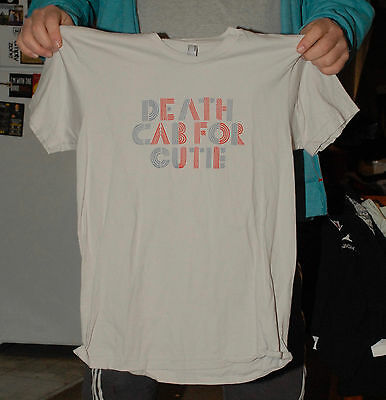 Death Cab For Cutie Band T Shirt Ben Gibbard Indie Hipster American Apparel Med