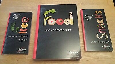 2017 Slimming World Food Directory, Free Branded Foods and Low Syn Snacks books