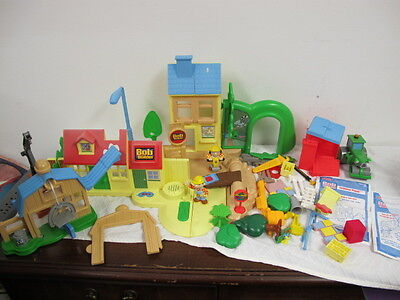Bob The Builder Playsets Farmhouse & Building Yard Talking Sounds Roley