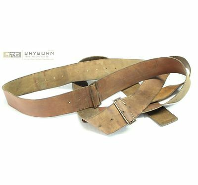 Australian WW1 P1915 Leather Equipment Braces - Original (Not Repros)