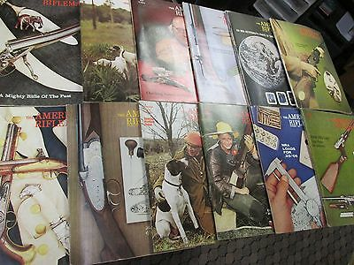 Vintage gun books American Rifleman,Magazines collectible advertisement Mags