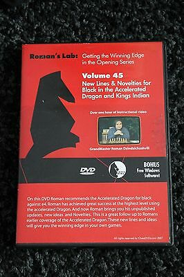 Chess DVD - Roman's Lab Vol 45 - Black in the Accelerated Dragon & Kings Indian