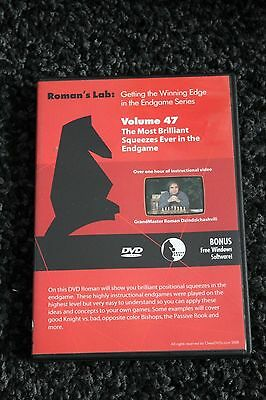 Chess DVD - Roman's Lab Vol 47 - Most Brilliant Squeezes Ever in the Endgame