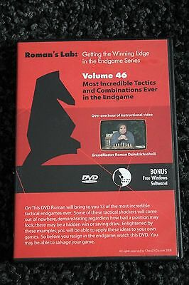 Chess DVD - Roman's Lab Vol 46 - Best Tactics & Combinations Ever in the Endgame