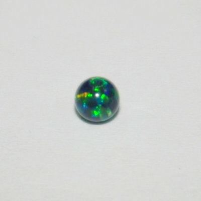 Super Fire Color Black Opal Beads 8 MM Amazing Color Play & Fire !!