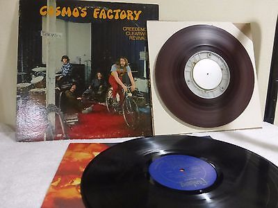 CREEDENCE COSMO'S FACTORY LP with ANALOG SECOND GENERATION tape 2 TRACK 15ips