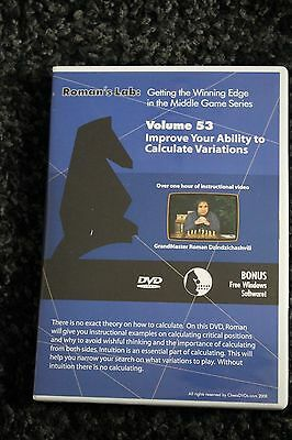 Chess DVD - Roman's Lab Vol 53 - Improve Your Ability to Calculate Variations