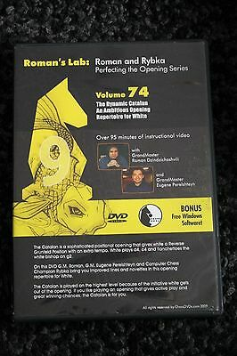 Chess DVD - Roman's Lab Vol 74 - Perfecting the Opening Series - Dynamic Catalan
