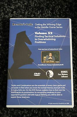 Chess DVD - Roman's Lab Vol 52 - Tactical Solutions in Overwhelming Positions