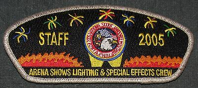 2005 National Jamboree Arena Shows Lighting Special Effects Crew Staff JSP MINT!