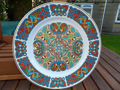 Spode Plate Lindisfarne Pattern Excellent Condition. 10.5 Ins.