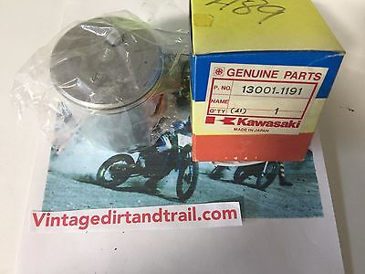 Genuine Kawasaki,NOS,OEM,NEW,13001-1191 , PISTON-ENGINE