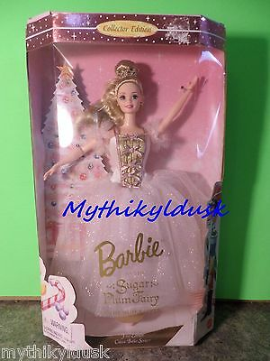 Barbie as the SUGAR PLUM FAIRY in the NUTCRACKER 1996 NEW Collector Edition
