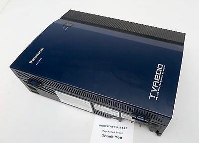 Panasonic TVA200 Voice Processing System KX-TVA200 Voicemail 4 Port No PowerCord