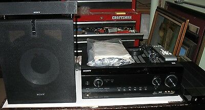 Sony Str Dh820 7.1 Channel 110 Watt Receiver Home Theater System