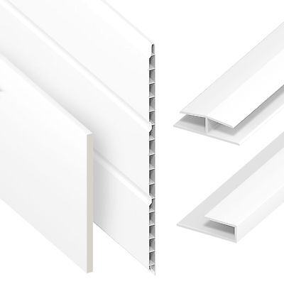 UPVC Flat Plastic Soffit Fascia Board General Purpose Utility 5M Liner 9mm Thick