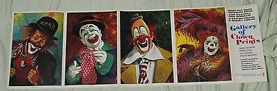 Ringling Brothers and Barnum & Bailey Gallery of Clowns Prints