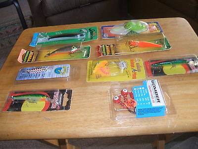 Mixed Lot Of 3 Bags Of Rubber Baits & 15 Lures