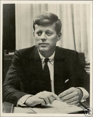 Authentic John F Kennedy  Signed  Reprint