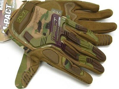MECHANIX WEAR Size Small S MultiCam M-PACT Tactical Gloves New! MPT-78-008