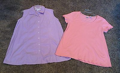 Size Medium MATERNITY BLOUSE Shirt Top blouse Lot