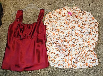 Size Small  Maternity Career Casual Blouse Top Shirt  Lot