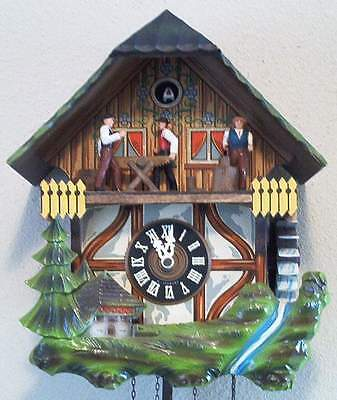Vintage cuckoo clock repair service including musical and animated