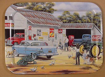 1998 John Deere & Coca-Cola Gulf Gas Station Tray