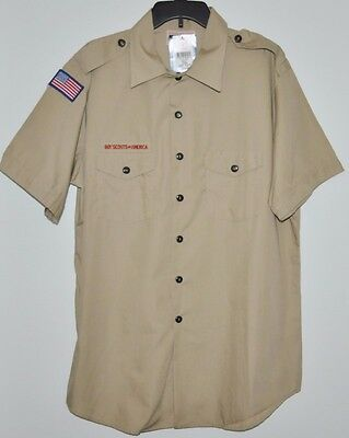 Boy Scouts Of America Official Mens Shirt Size Xl New With Tags Bsa