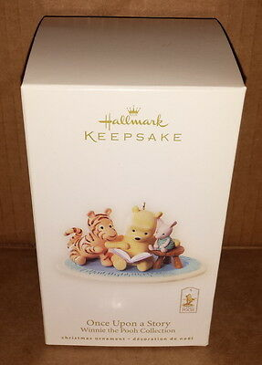 2008 Hallmark Ornament Once Upon a Story Winnie the Pooh Collection QXD4101 NEW