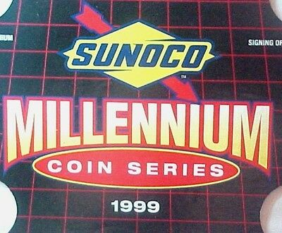 Sunoco Millennium Coin Series 1999 complete 10 coin set