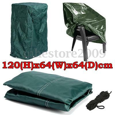 120x64x64cm Outdoor Garden Furniture Stacking Chair Cover Dustproof Protect