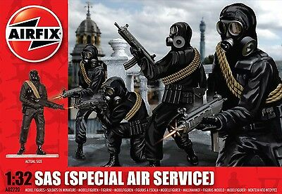 Airfix A02720 Sas (Special Air Service)  - 1:32 Scale - Free Uk Postage